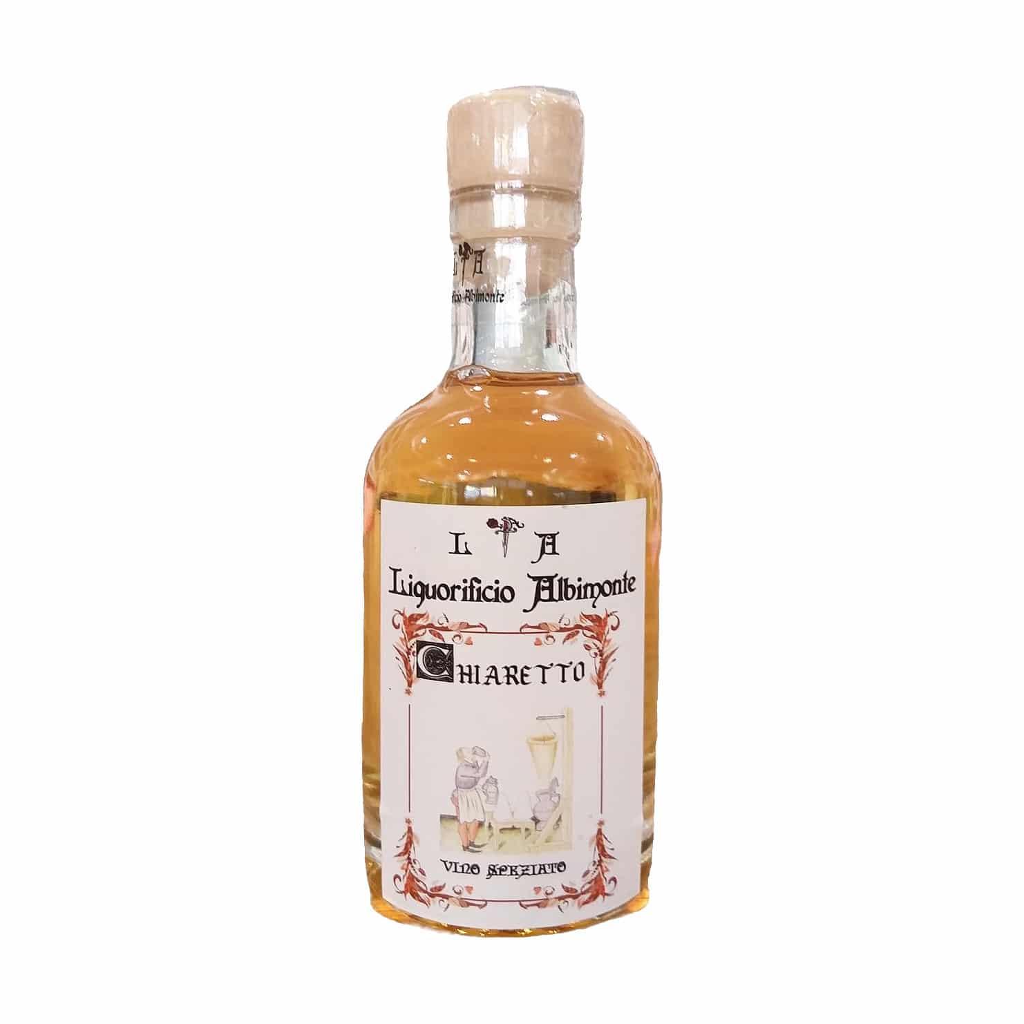 CHIARETTO VINO SPEZIATO 20CL Liquorificio Albimonte