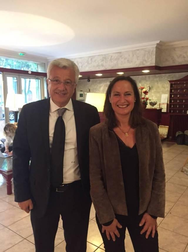 France Rougié et Elie Aboud