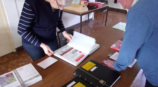 Recherche des timbres et de leur valeur