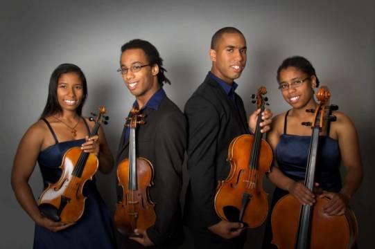Le Quatuor Despax (Photo Marc Bélair)