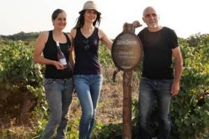 Emilie Alauze, Sabine Crossen et Antoine Ros passionnés du bon vin.