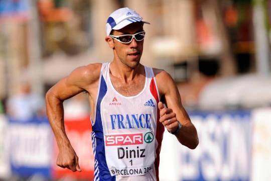 Yohann Diniz vient tout juste de remporter le titre de champion du monde de marche athlétique sur le 50km à Londres, le 13 août dernier