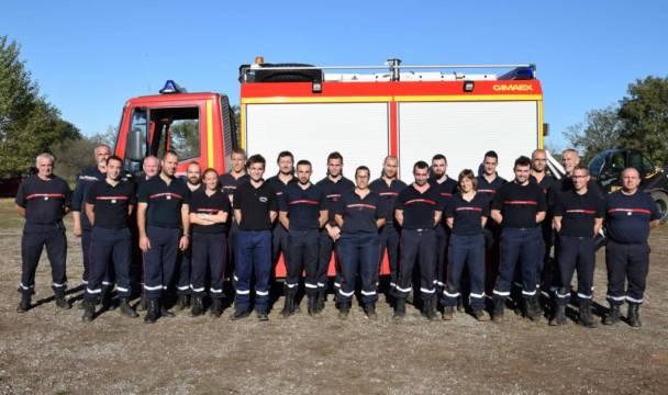 Les participants manifestement satisfaits Crédit photos : © François Gomez – Les Pompiers du Lot