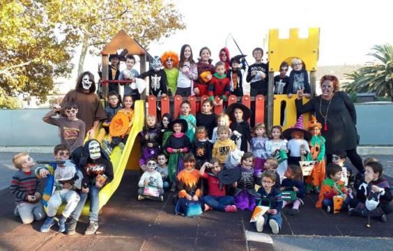 Le groupe Halloween