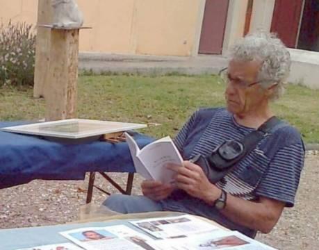 Le poète gersois Gérard Pinson