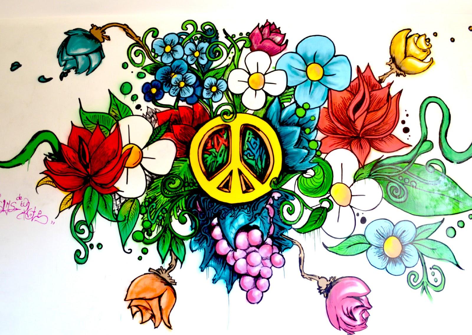 Et si on faisait la paix le petit prince a dit un site pour l 39 autisme - Dessin peace and love ...