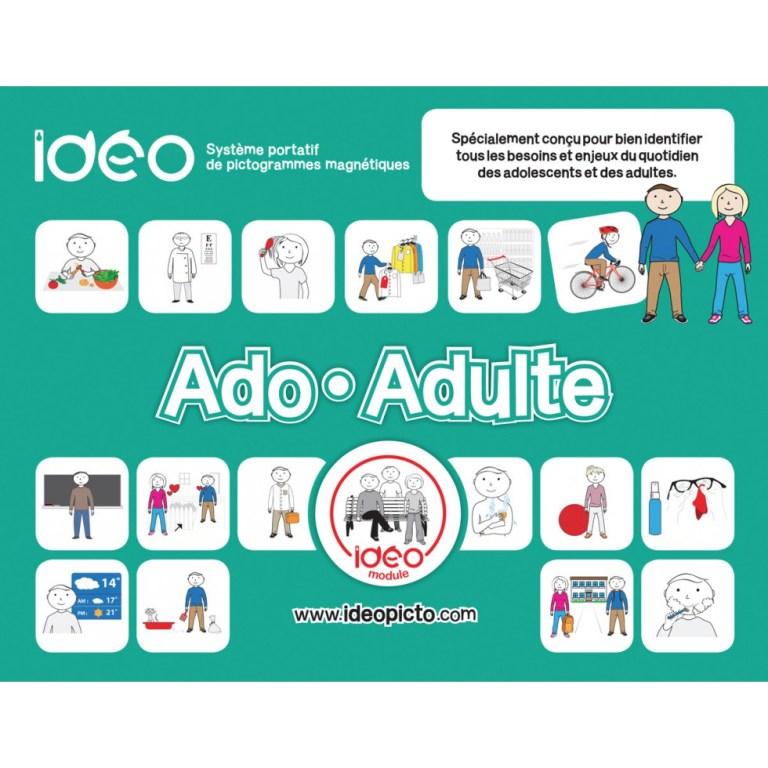 Pictogrammes Ideo module ado adulte chez Hop'Toys