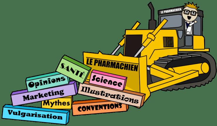 Le Pharmachien = passer un bulldozer dans les conventions en sciences