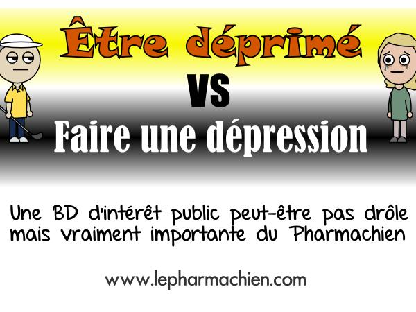 Être déprimé VS Faire une dépression (0)