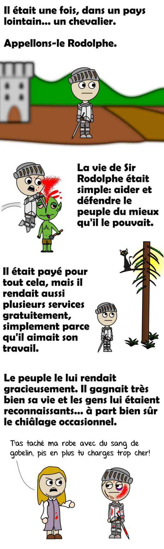 Le chevalier Rodolphe