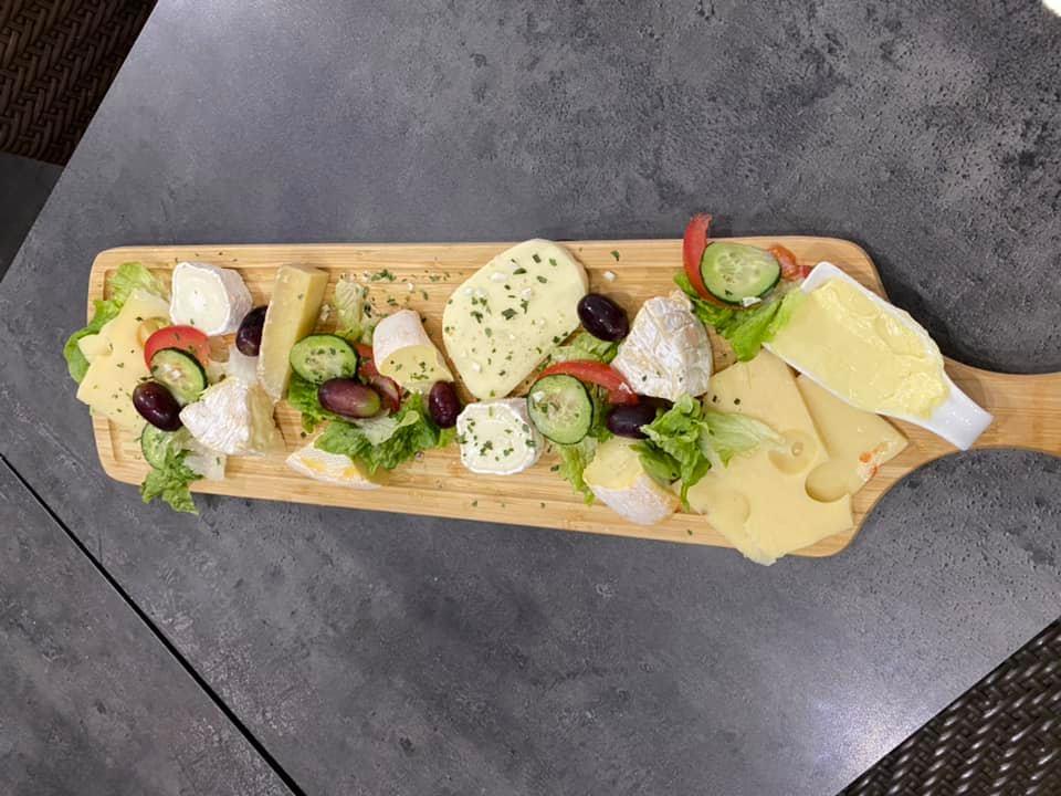 planche fromage brasserie à l'aigle près Evreux