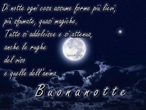 Frasi Buonanotte  Le pi belle frasi