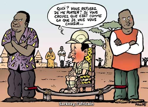 Le tri sélectif de Sarkozy expliqué aux maliens