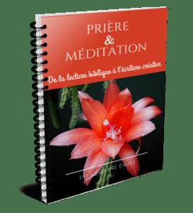 Prière et méditation: de la lecture biblique à l'écriture créative
