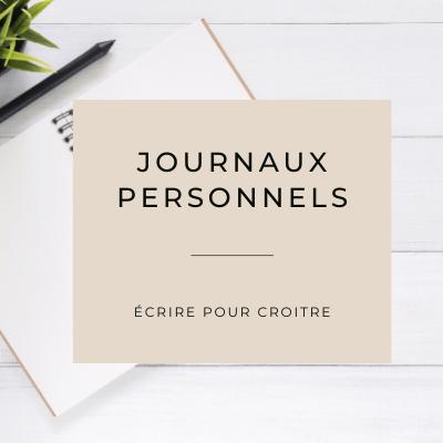 Journaux personnels