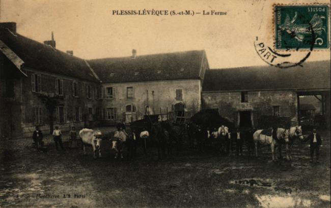 Le Plessis l'Évêque - La ferme