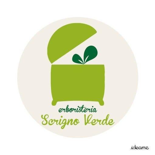 Logo erboristeria Scrigno verde Ideame