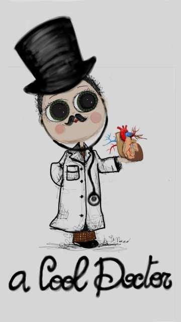 Cool doctor -Madamoiselle Crayon - Le Plume