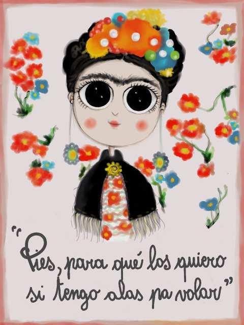 Frida - Madamoiselle Crayon - Le Plume