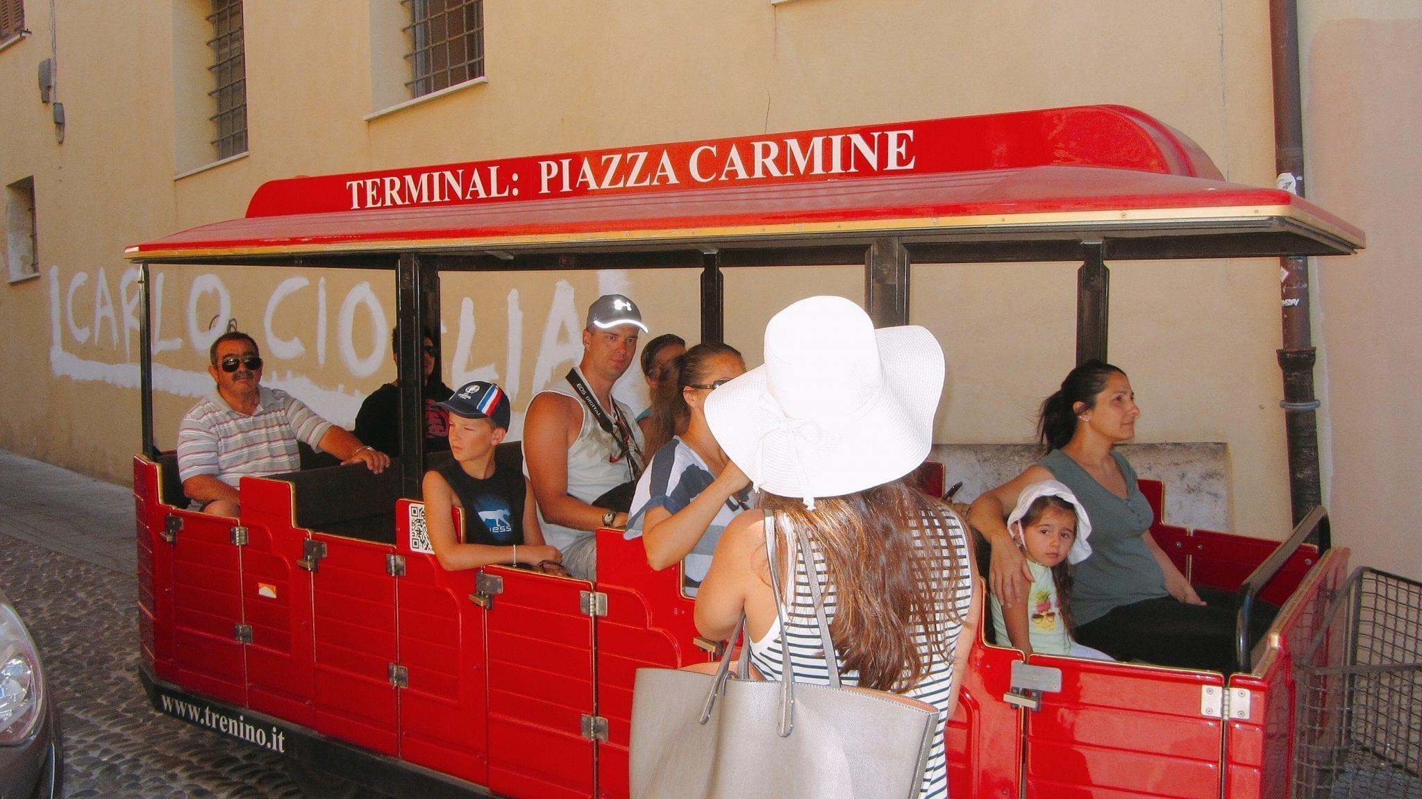 Trenino - Le Plume - City break