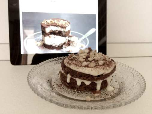 Tiramisù Brownies - Le Plume