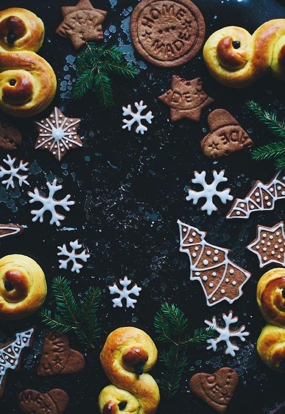 lussekatte - ricette di Natale - Le Plume