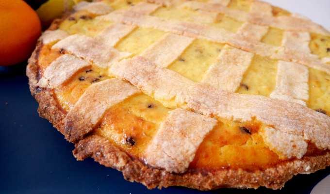 Dettaglio pastiera napoletana - Le Plume Bake Challenge