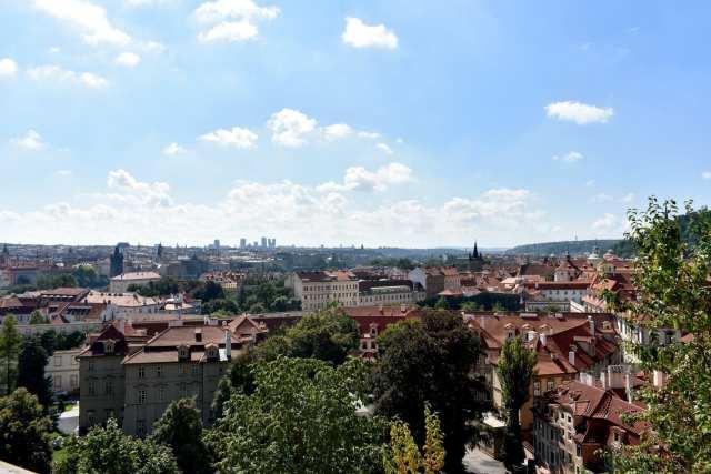 vista dal Castello -Praga -Le Plume