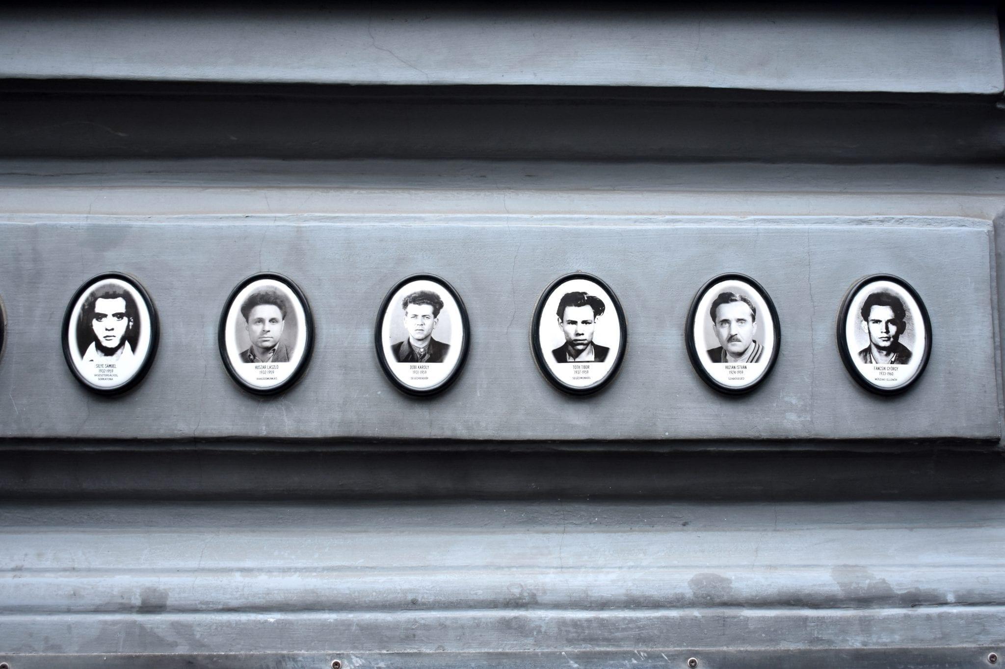 vittime museo del terrore - Budapest - Le Plume