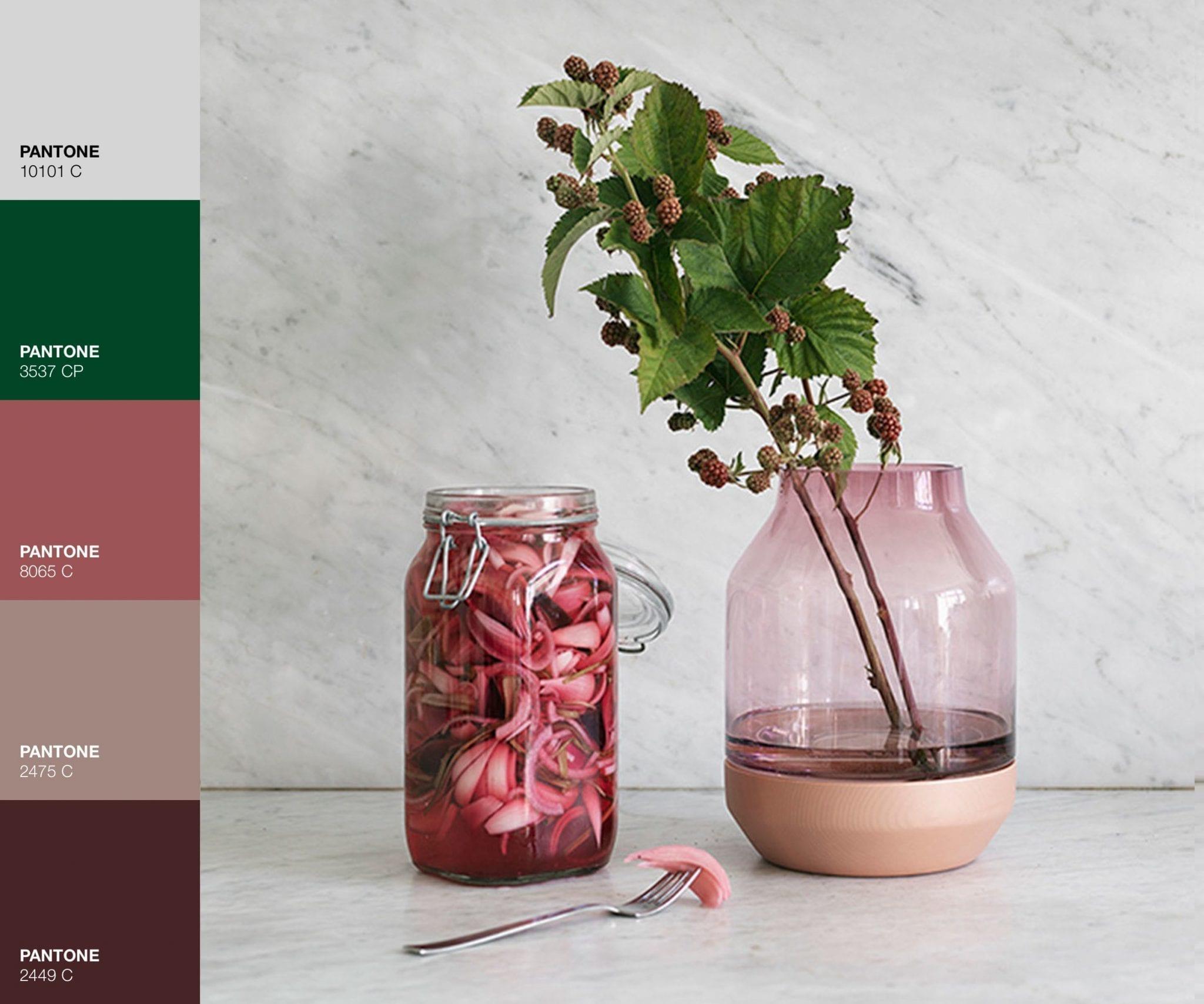 Vaso Muutu - Rosa Pink - Le Plume