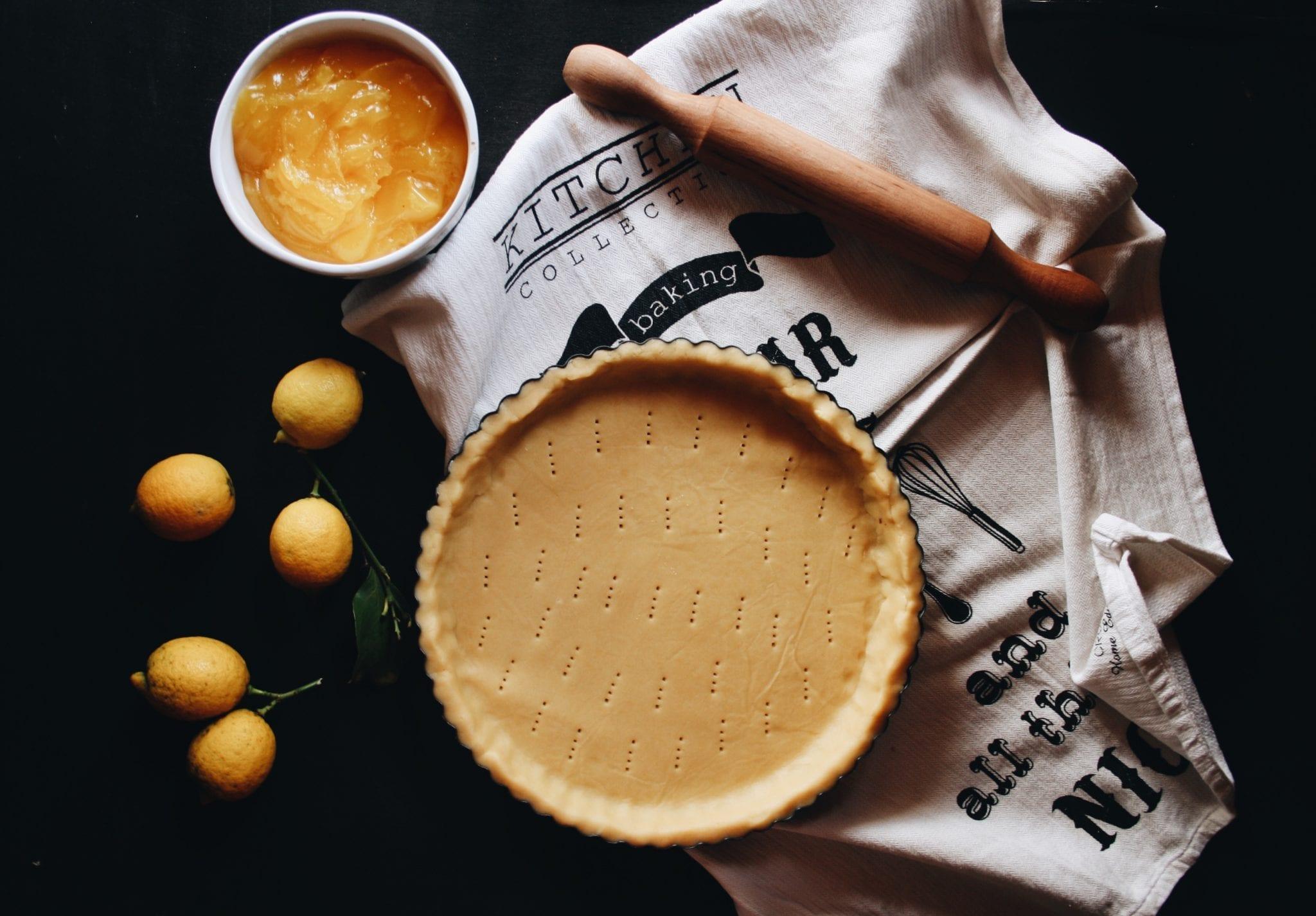 frolla per tarte au citron meringuée - Cuor di Biscotto - Le Plume