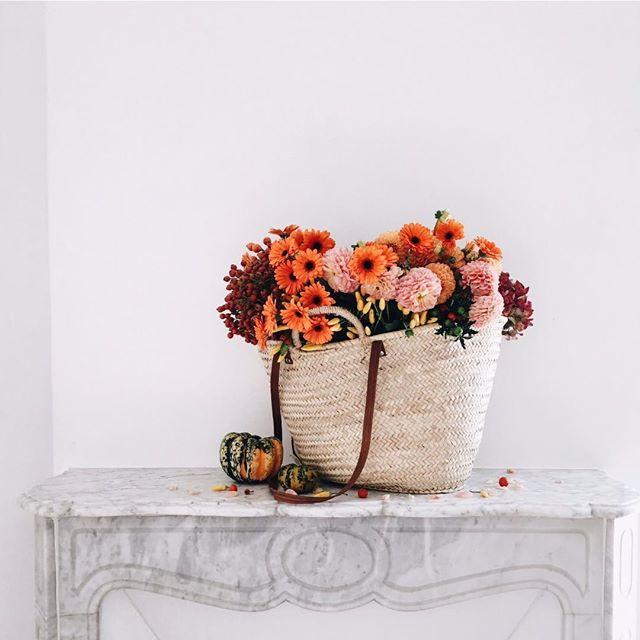 vivi et Margot borsa fiori - wish list - leplume