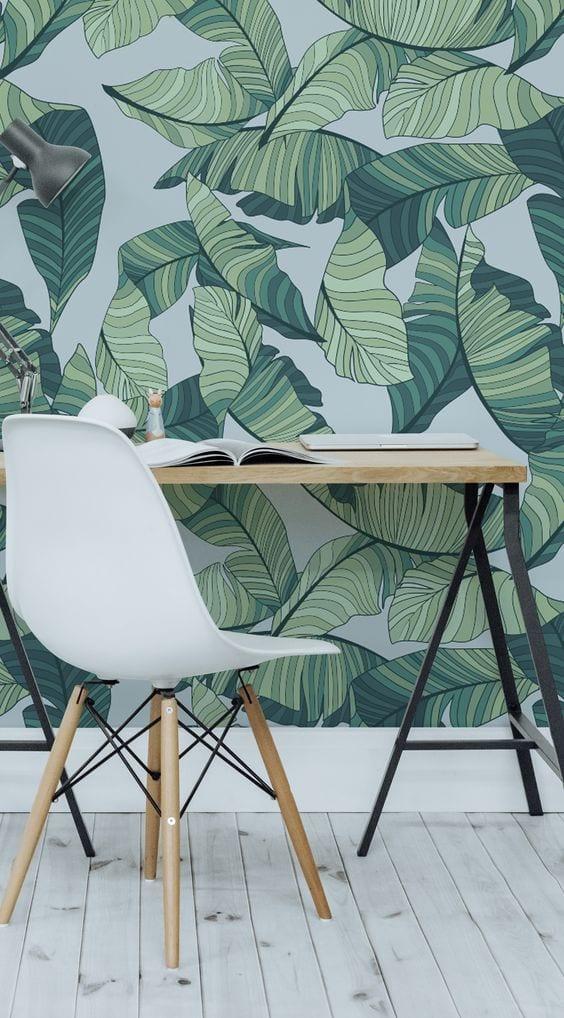 Wall paper jungle - carta da parati - Le Plume