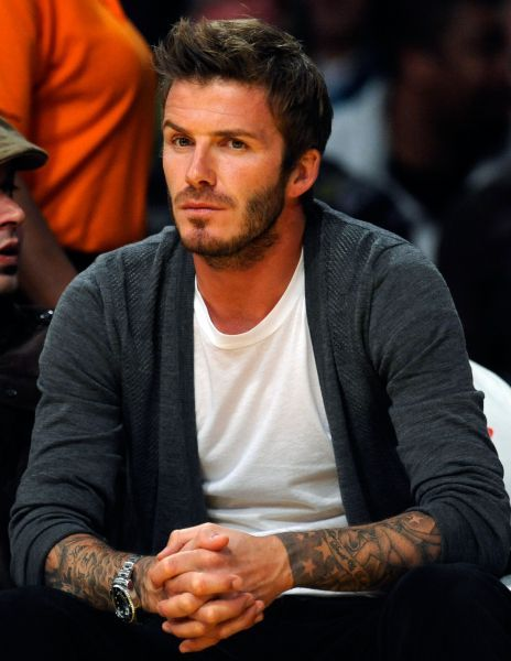 David Beckham - tshirt bianca - LePlume