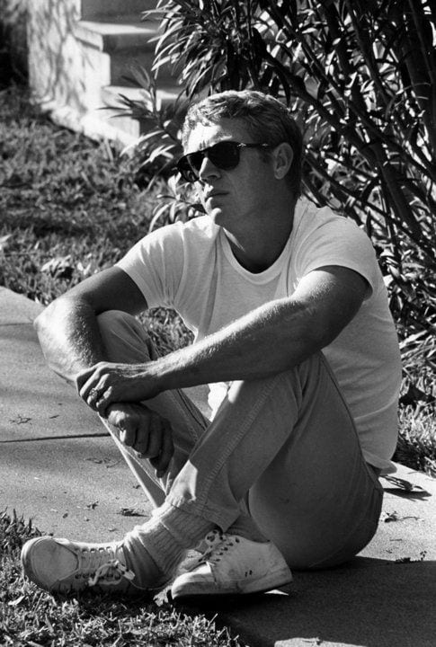 Steve McQueen - tshirt bianca - LePlume