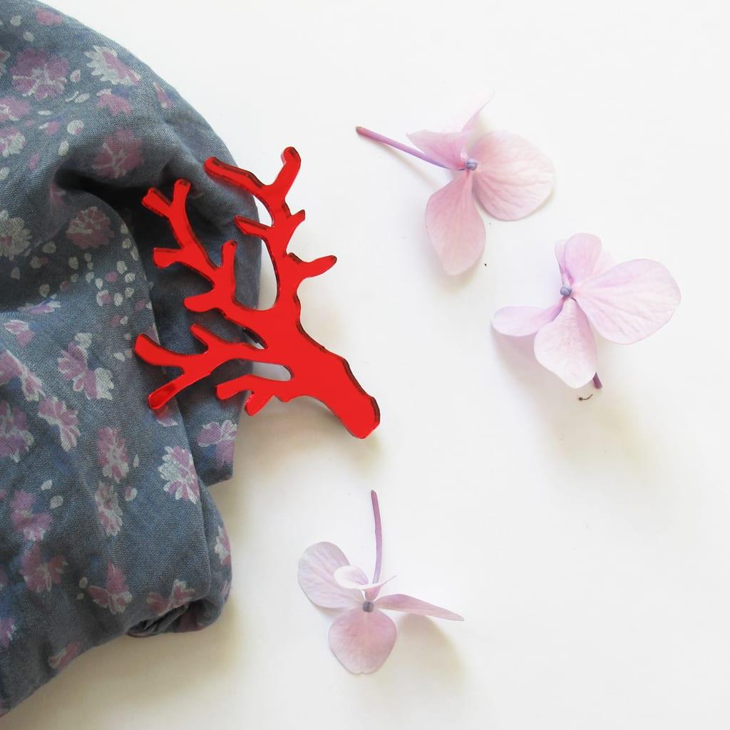 BiCA_coralbrooch-2b - BiCA-Good Morning Design - Le Plume