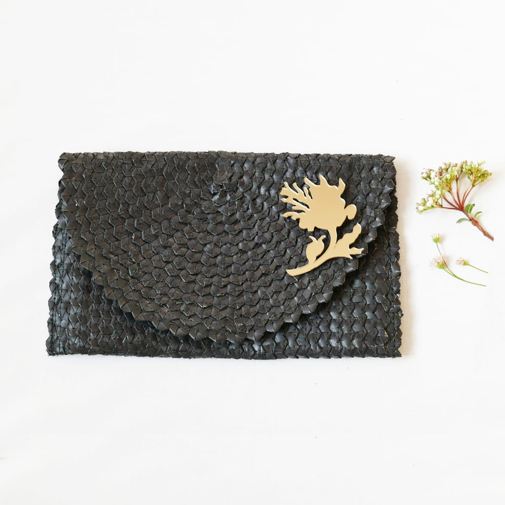 clutchbag_black-b - BiCA-Good Morning Design - Le Plume