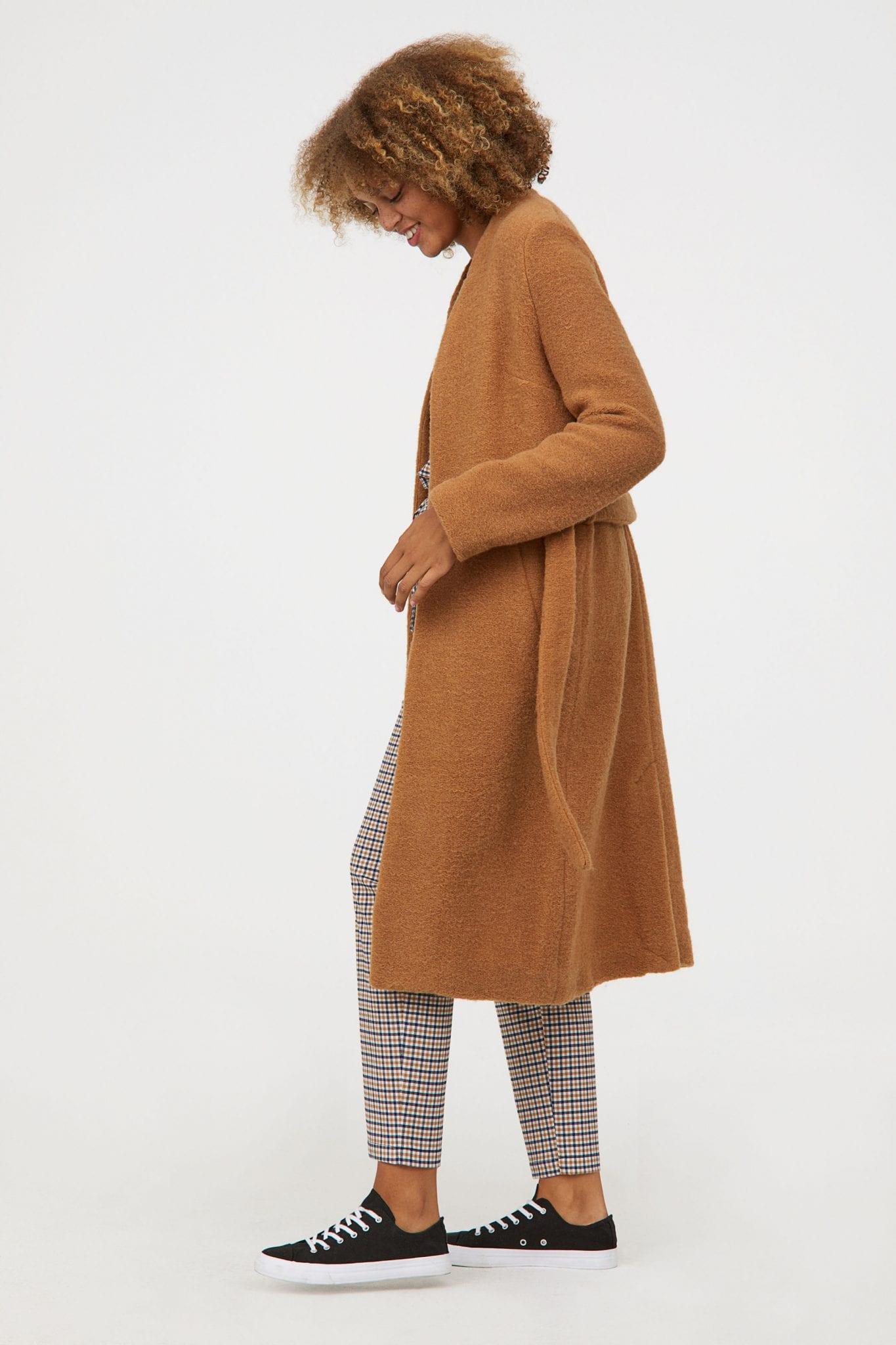 H&M Cappotto misto lana vestaglia