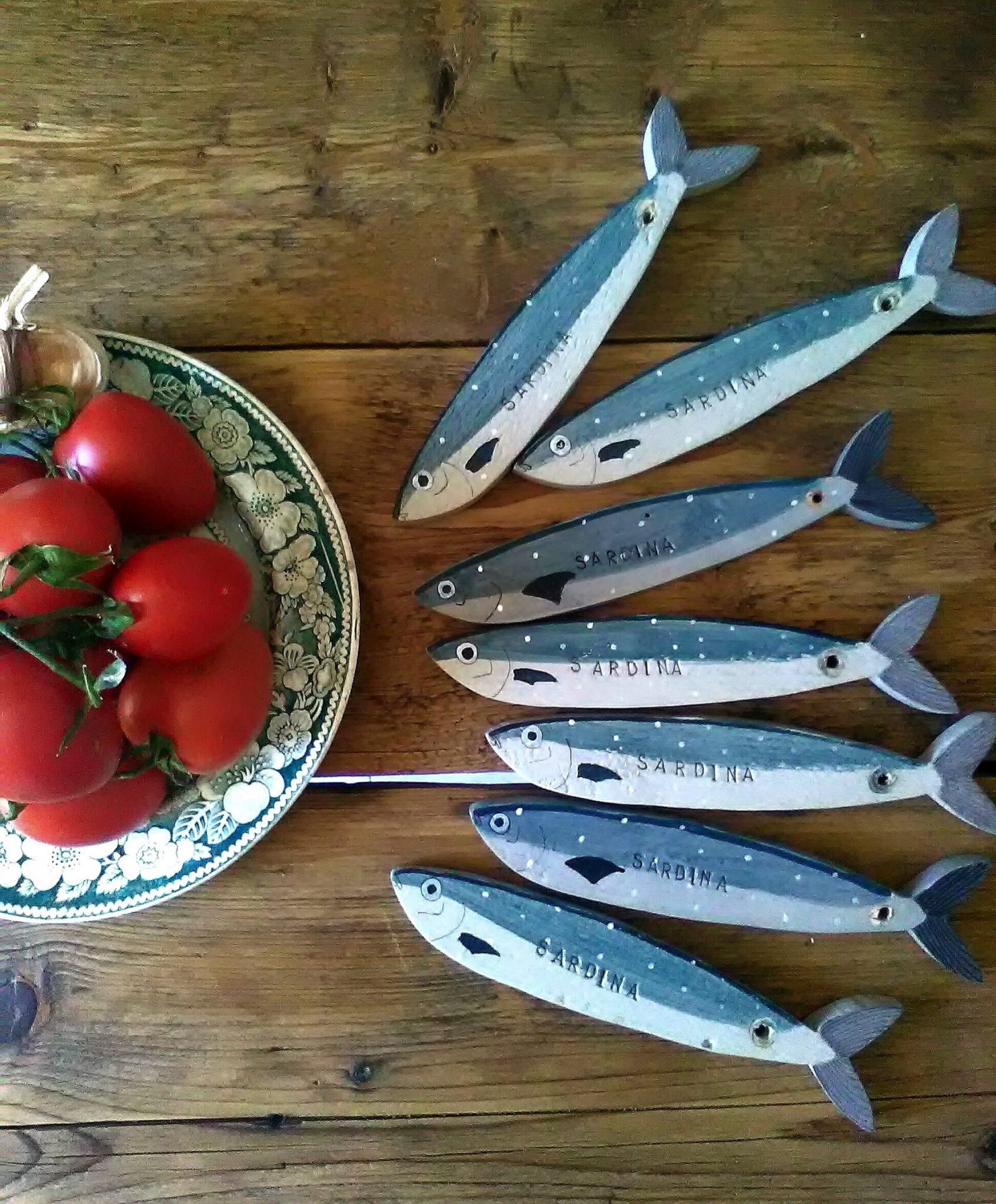 Sardine per cena - Tzilipicche Hand MAde - Le Plume