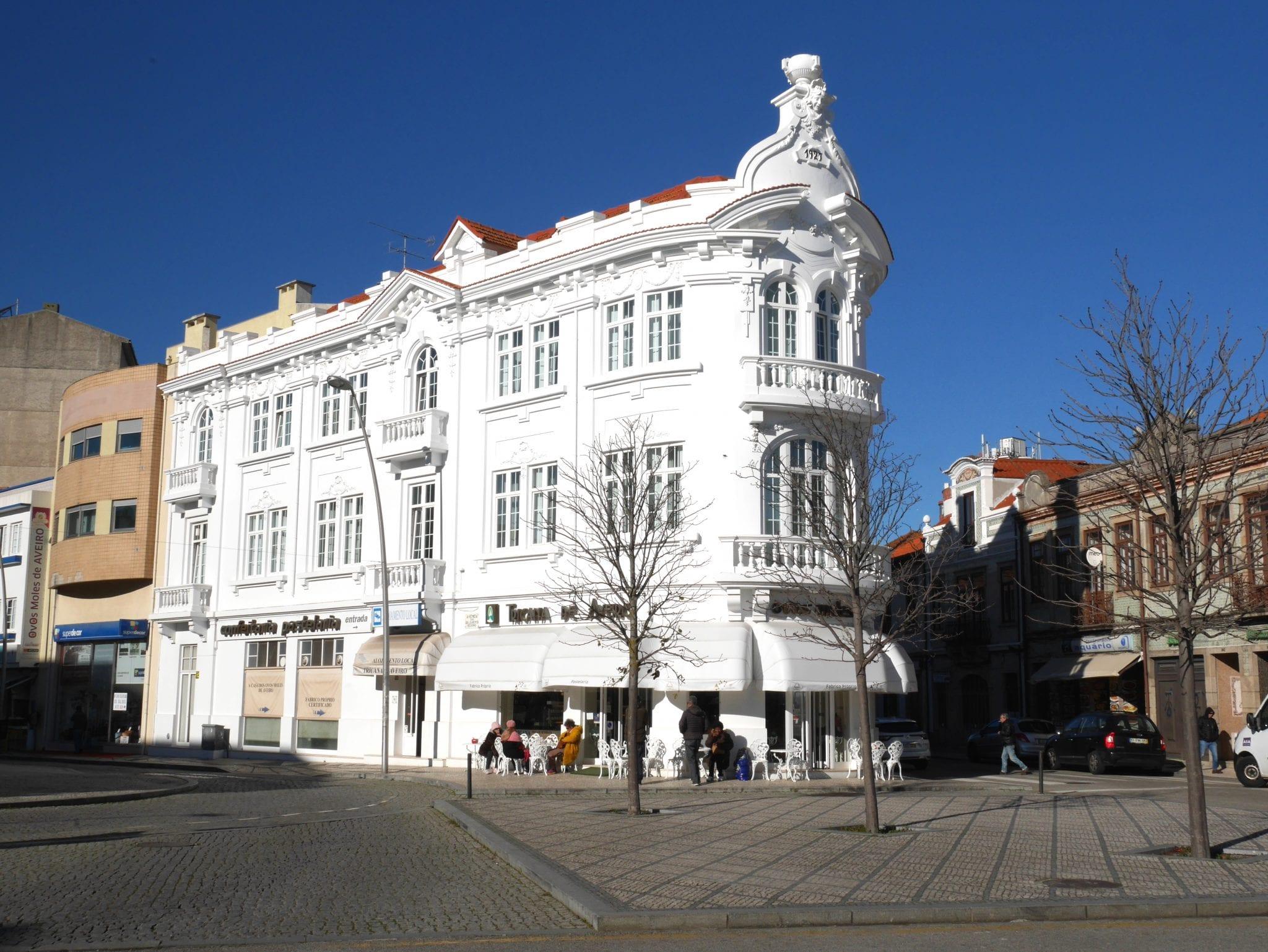 Palazzo bianco - Aveiro - Le Plume