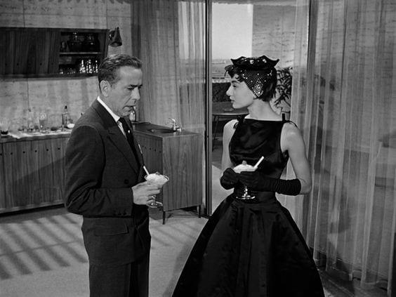 Sabrina black dress- outfit del cinema Le Plume