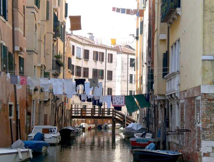 Panni stesi venezia - Le Plume