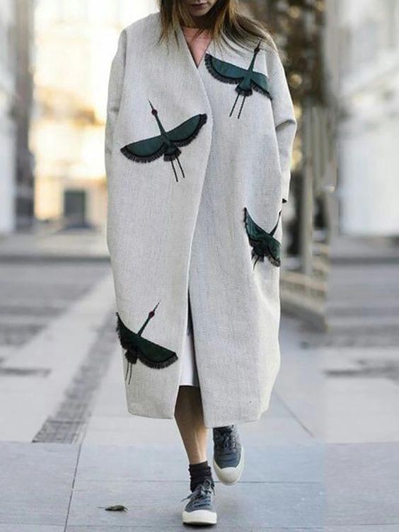 Cappotto lungo - Le Plume