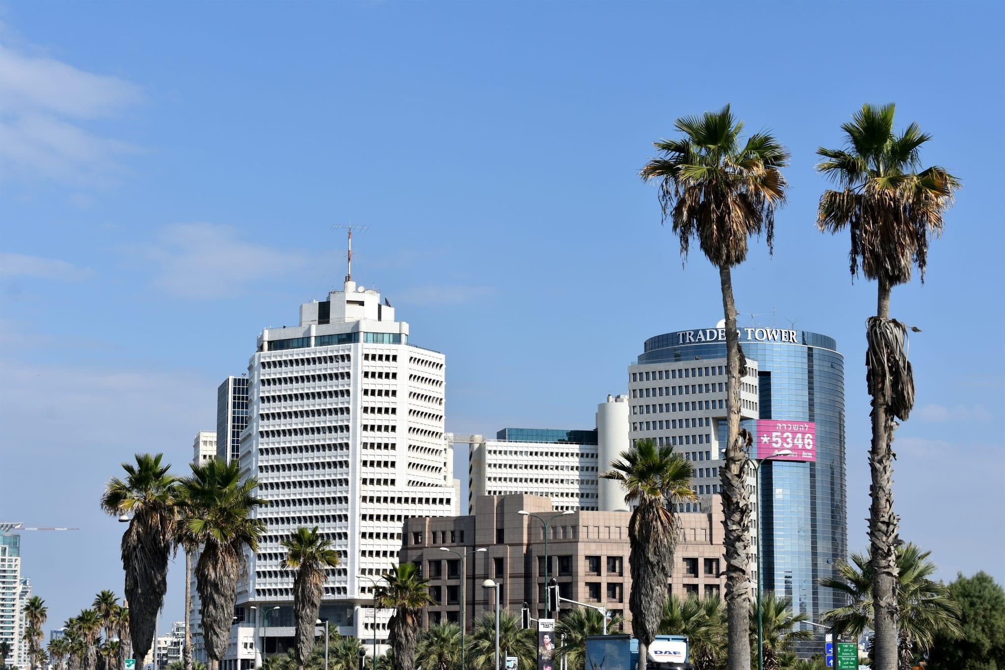 Tel Aviv - grattacieli - Le Plume
