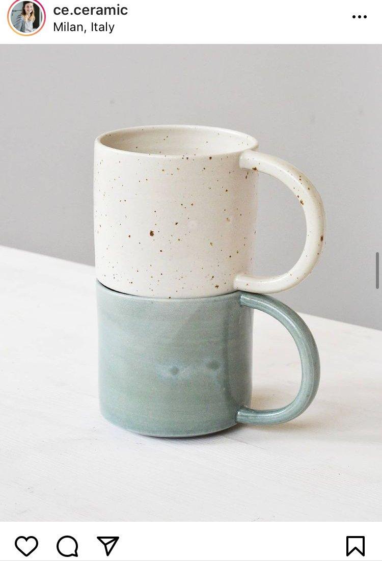 Ce ceramic tazze - regali di Natale - Le Plume