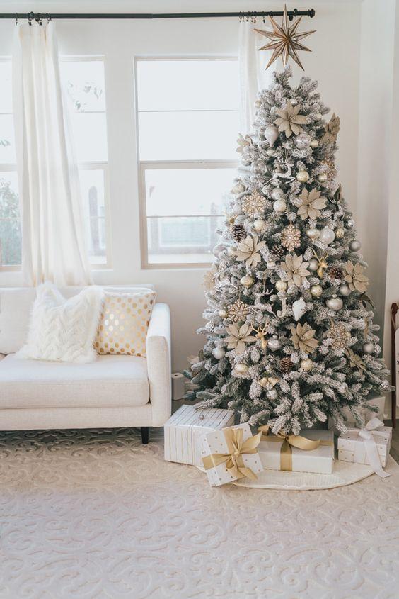 Platino albero - I colori del Natale - Le Plume