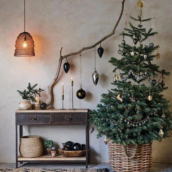albero vero Natale naturale - I colori del Natale - Le Plume