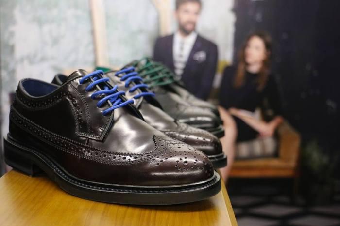 Zapatos Blucher Burgundy