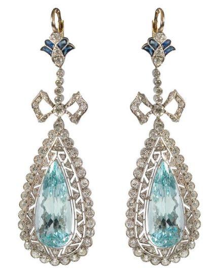 diamantes con zafiros