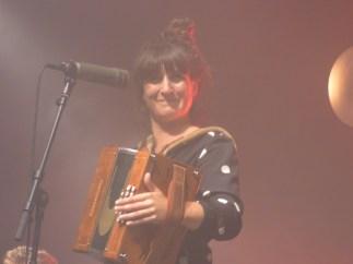 Le groupe poitevin Ma Petite et sa charismatique chanteuse Perrine Vrignault.